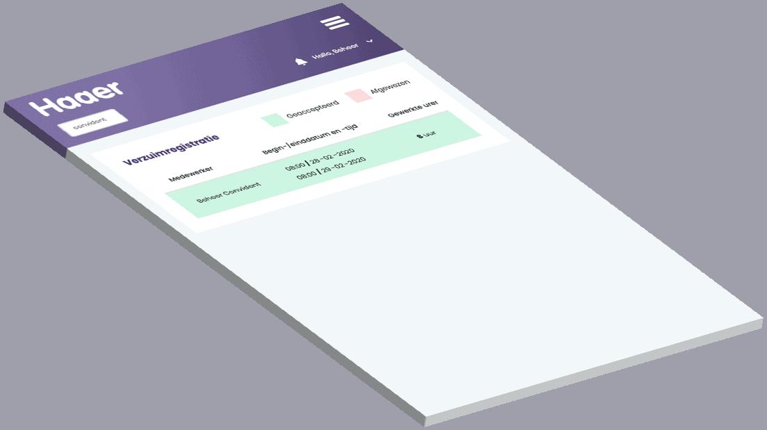 Verzuimregistratie informatie